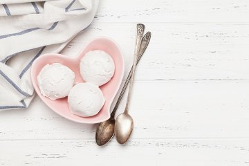 Veganer Frozen Joghurt