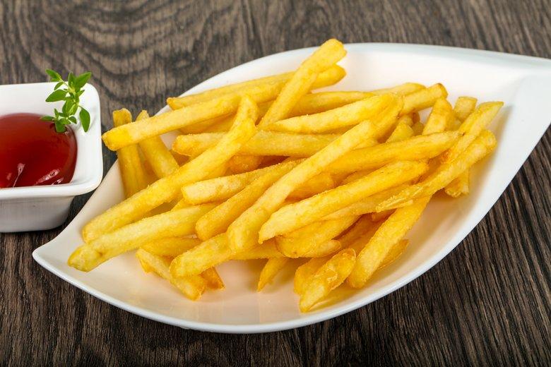 Knusprige Pommes-Frites