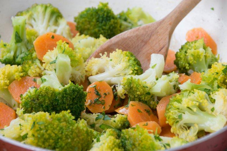 Geschmorte Karotten mit Brokkoli