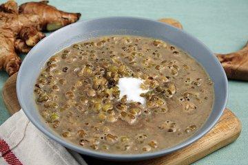 Mungbohnen-Dessert