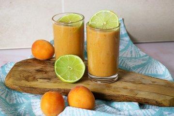 Aprikosenmus mit Limette