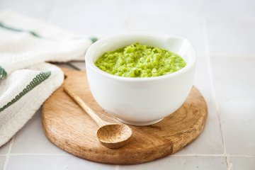 Grüne Chilipaste