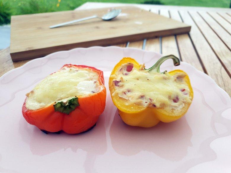 Gegrillte-Gefüllte Paprika