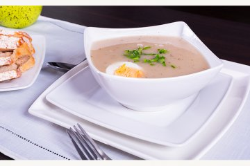Brotsuppe auf französische Art