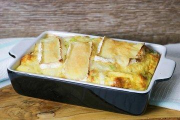 Rosenkohl-Omelett mit Brie