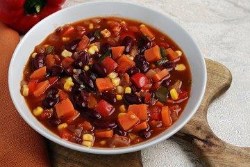 Veganes Chili-Sin-Carne