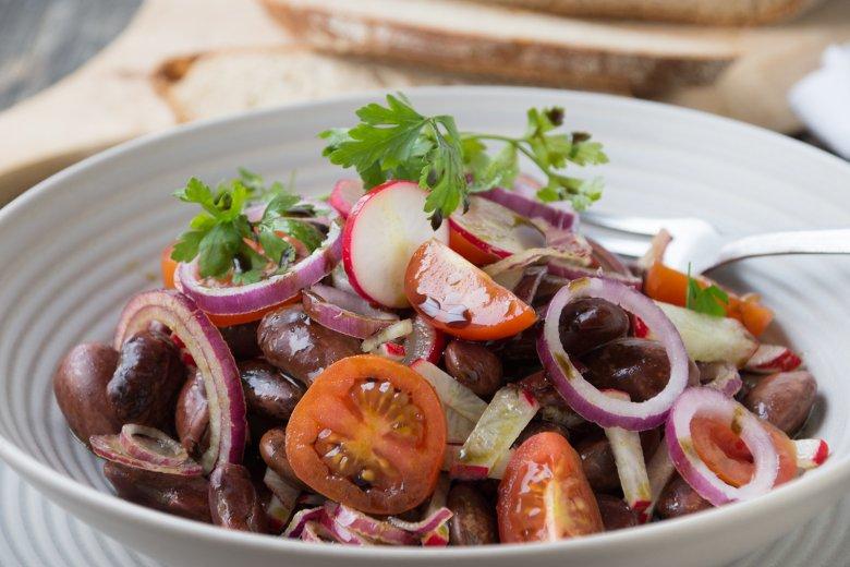 Steirischer Käferbohnen Salat