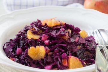 Fruchtiger Rotkohlsalat