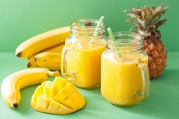 Bananen-Mango-Shake