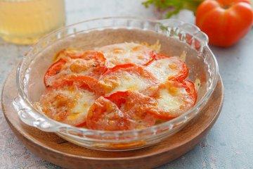Überbackener Fenchel mit Mozzarella