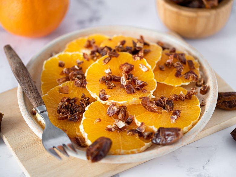 Apfelsinensalat mit Rum