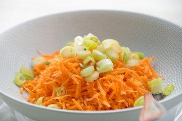 Karotten-Rohkost