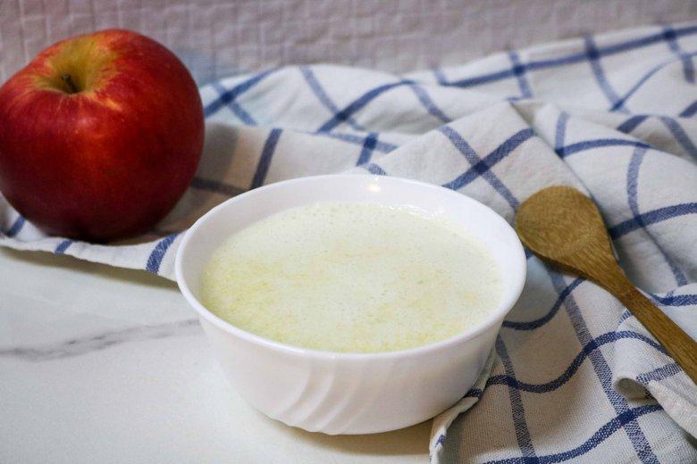 Abendbrei mit Hirse, Apfel und Fenchel