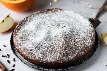 Zuckerfreier Kürbiskuchen