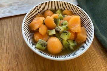 Melonen-Kiwi-Salat