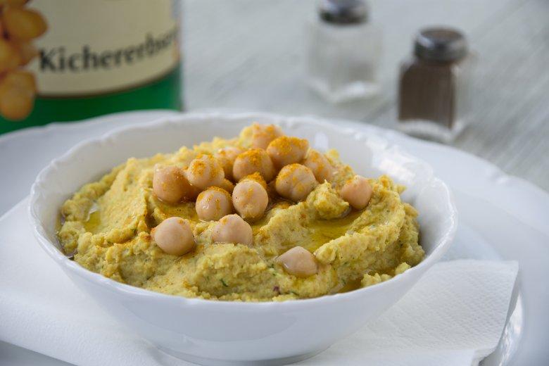 Kichererbsen Curry Dip