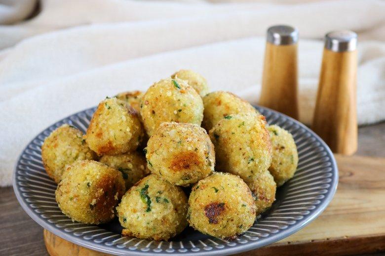 Hirse-Kartoffel-Bällchen