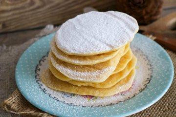 Pfannkuchen aus Reismehl