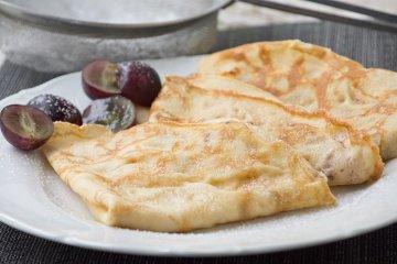 Pfannkuchen aus Mandelmehl