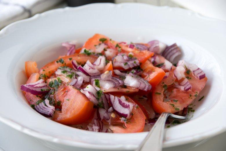 Dressing für Tomatensalat