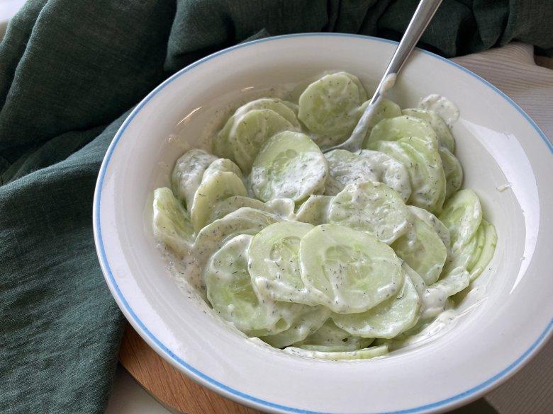 Dressing für Gurkensalat