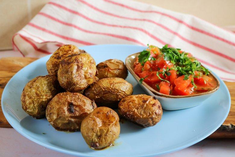 Spanische Backkartoffeln