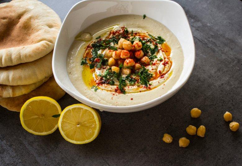 Einfaches Hummusrezept