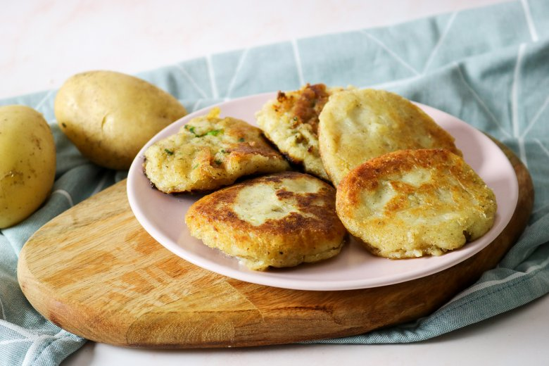Vegane Kartoffelbratlinge
