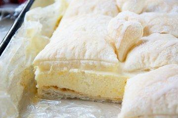Puddingcreme-Schnitten