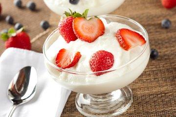 Joghurtcreme ohne Gelatine
