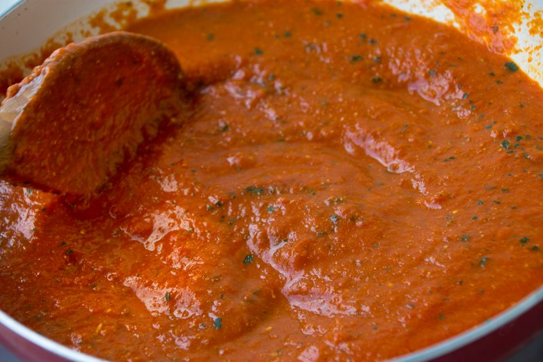 Neapolitanische Tomatensauce