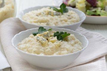 Sellerie-Gorgonzola-Risotto