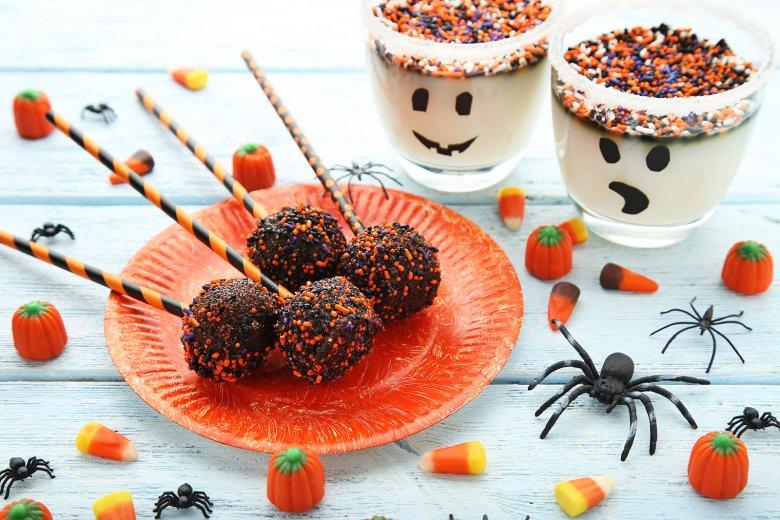 Halloween-Schoko-Cake Pops