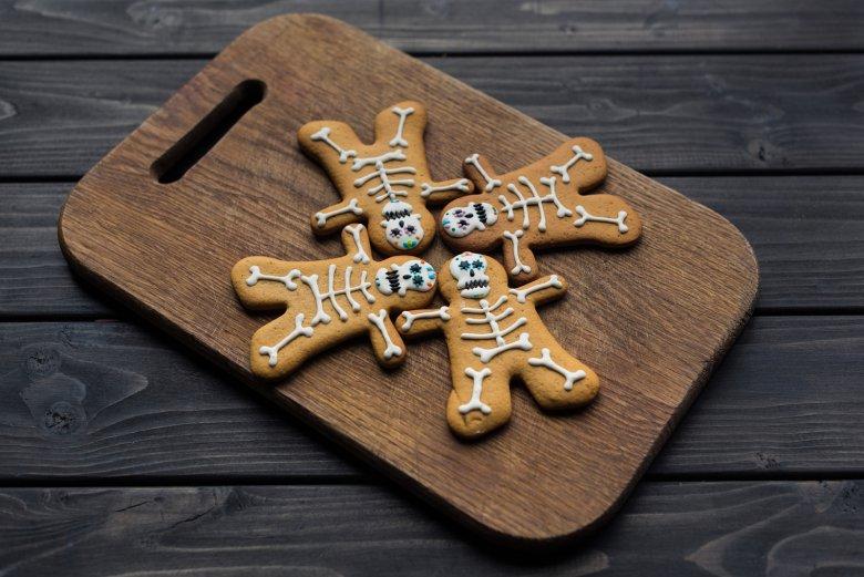 Ginger-Bread Skelettkekse