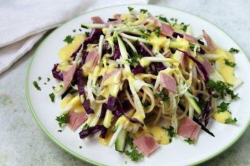 Nudel-Kohl-Salat
