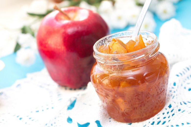 Apfelmarmelade mit Zimt