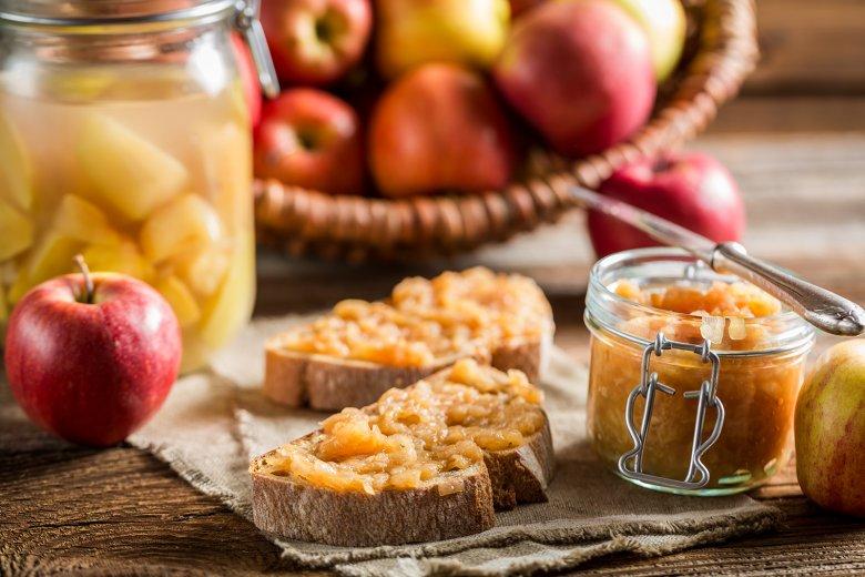 Apfelmarmelade ohne Gelierzucker