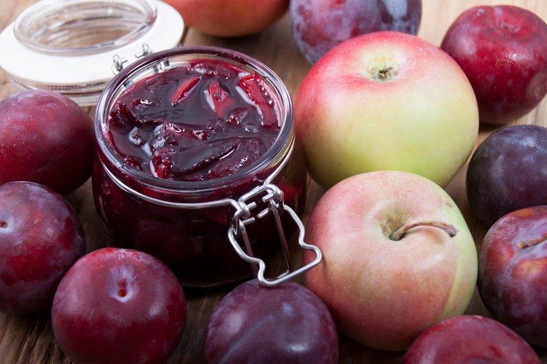 Pflaumen-Apfel-Zimt-Marmelade