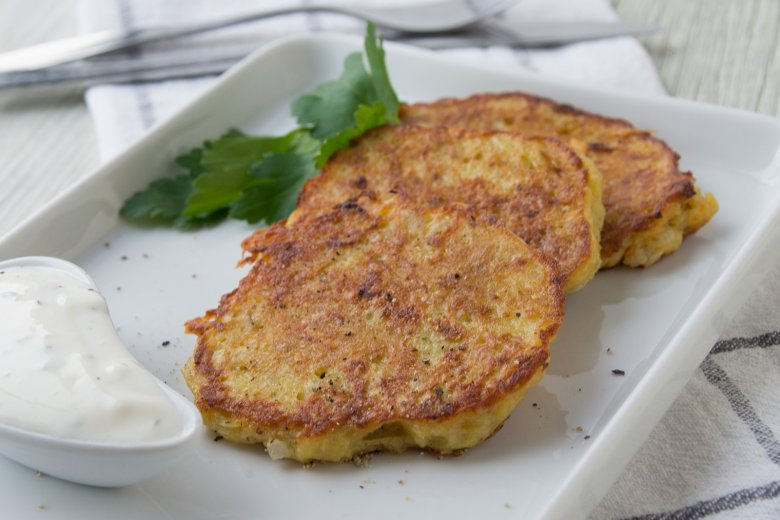Möhren-Zucchini-Bratlinge