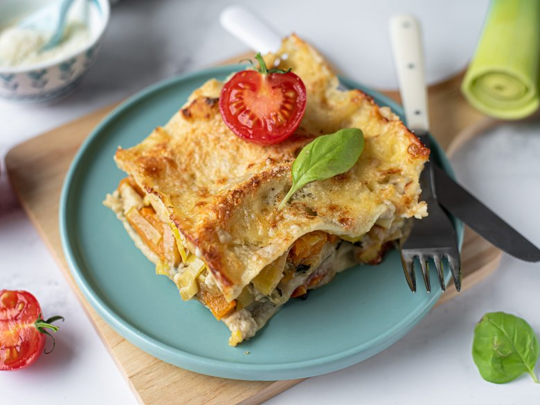 Kürbis-Zucchini-Lasagne