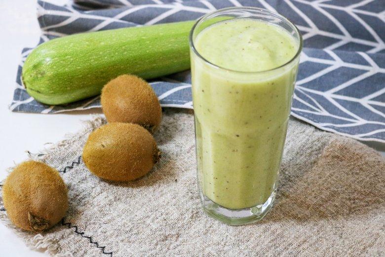 Kiwi-Zucchini-Smoothie