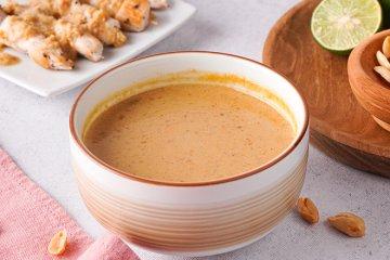 Satè-Sauce - Grundrezept