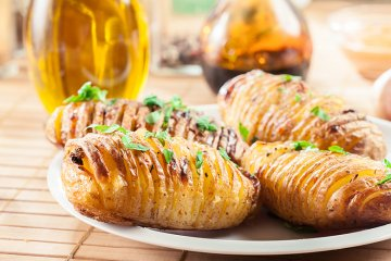 Ofenkartoffeln nach schwedischer Art