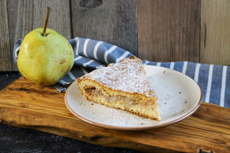 Birnenmus-Kuchen