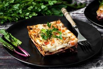 Lasagne mit Walnüssen