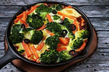 Gemüse-Kartoffel Tortilla