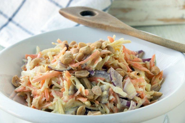 Spitzkohlsalat mit Möhren