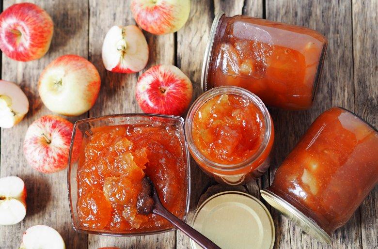 Einfache Apfelmarmelade