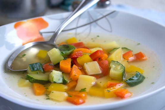 Bunter Gemüseeintopf