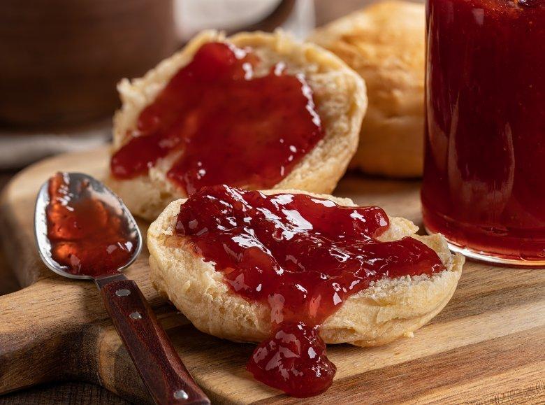 Erdbeer-Apfel-Marmelade